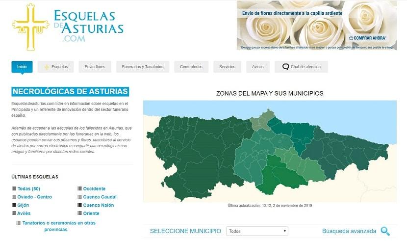 Esquelas Asturias