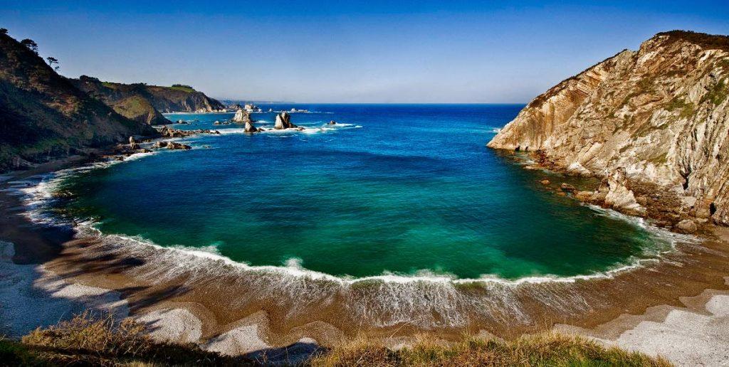 Imagen de la Playa del Silencio