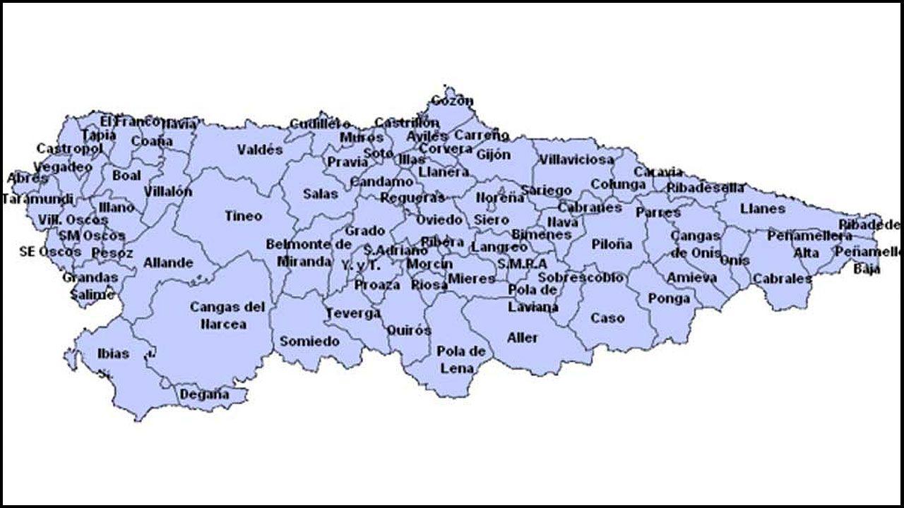 Concejos de Asturias