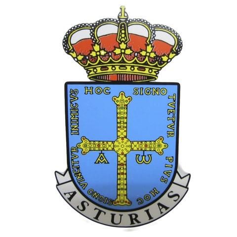 Escudo heráldico de Asturias